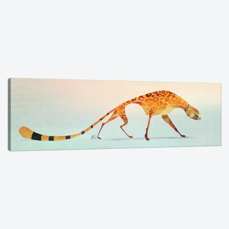 Cheetah IV Canvas Print #SAI12} by SAEIART Canvas Wall Art