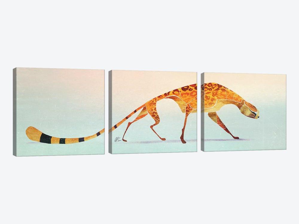 Cheetah IV by SAEIART 3-piece Art Print