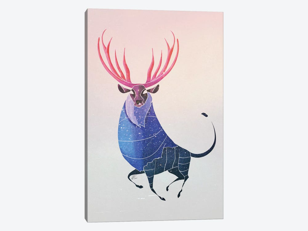 Deer by SAEIART 1-piece Canvas Print