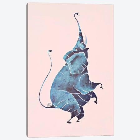 Elephant Canvas Print #SAI19} by SAEIART Canvas Wall Art