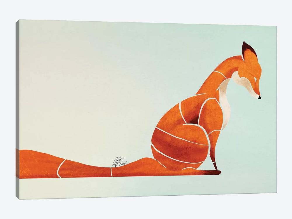 Fox I by SAEIART 1-piece Art Print
