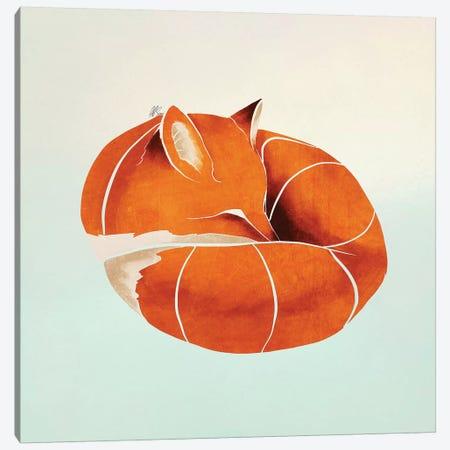 Fox II Canvas Print #SAI22} by SAEIART Art Print