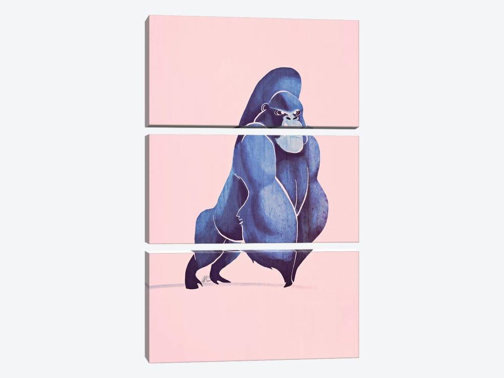Gorilla by SAEIART 3-piece Canvas Print