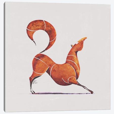 Horse I 3-Piece Canvas #SAI28} by SAEIART Art Print