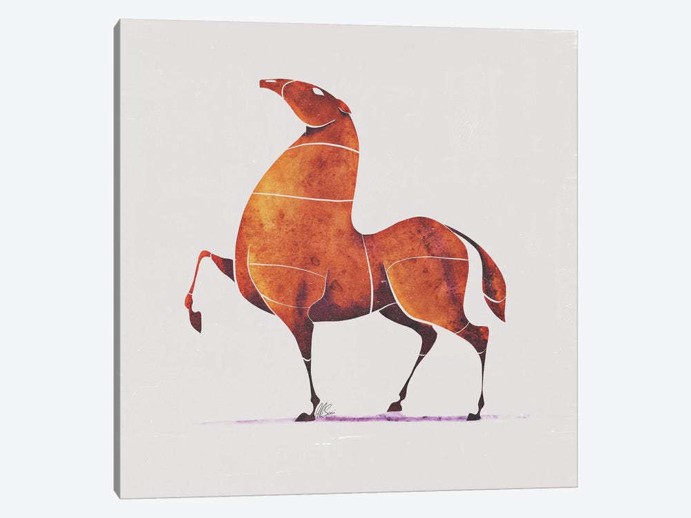 Horse II by SAEIART 1-piece Canvas Print