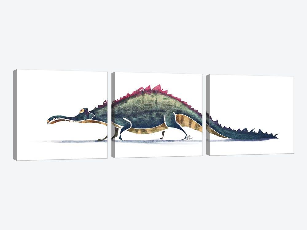 Alligator by SAEIART 3-piece Canvas Print
