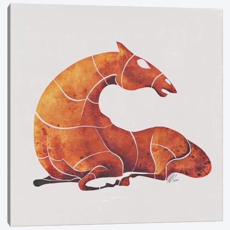 Horse III Canvas Print #SAI30} by SAEIART Canvas Wall Art