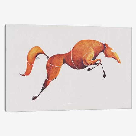 Horse IV 3-Piece Canvas #SAI31} by SAEIART Canvas Art