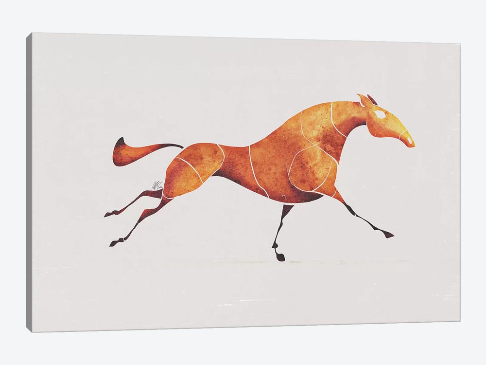 Horse V by SAEIART 1-piece Art Print