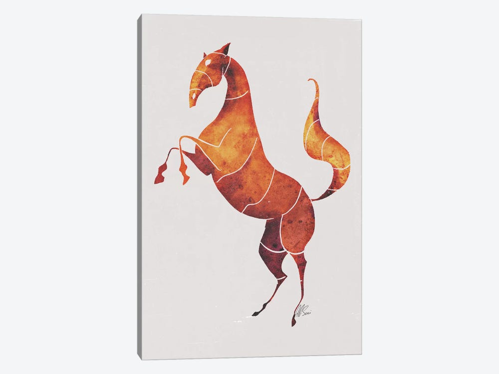 Horse VI by SAEIART 1-piece Canvas Wall Art
