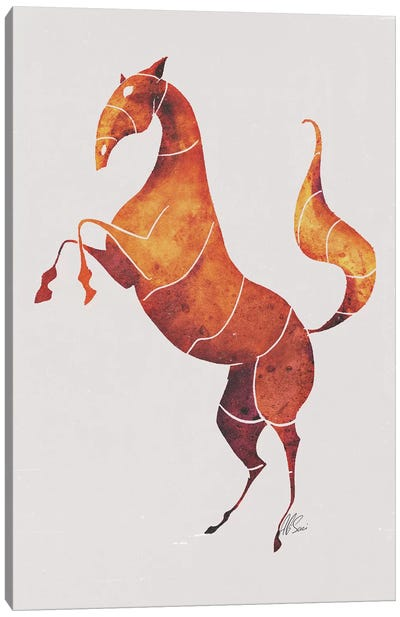 Horse VI Canvas Art Print