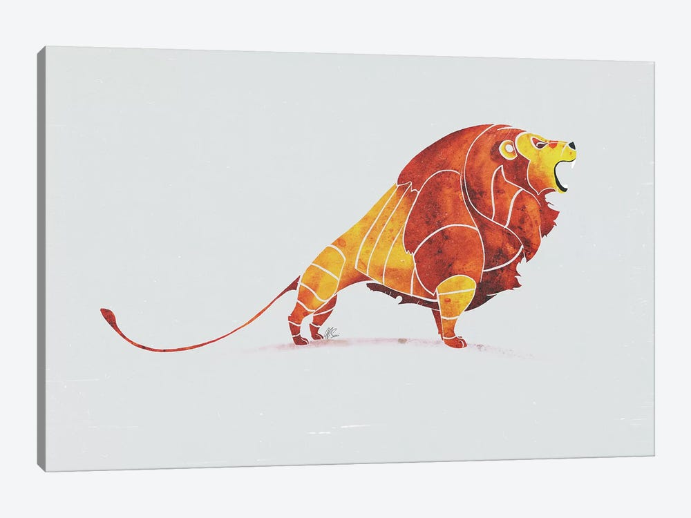 Lion by SAEIART 1-piece Canvas Print