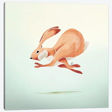 Rabbit Canvas Print #SAI45} by SAEIART Canvas Art