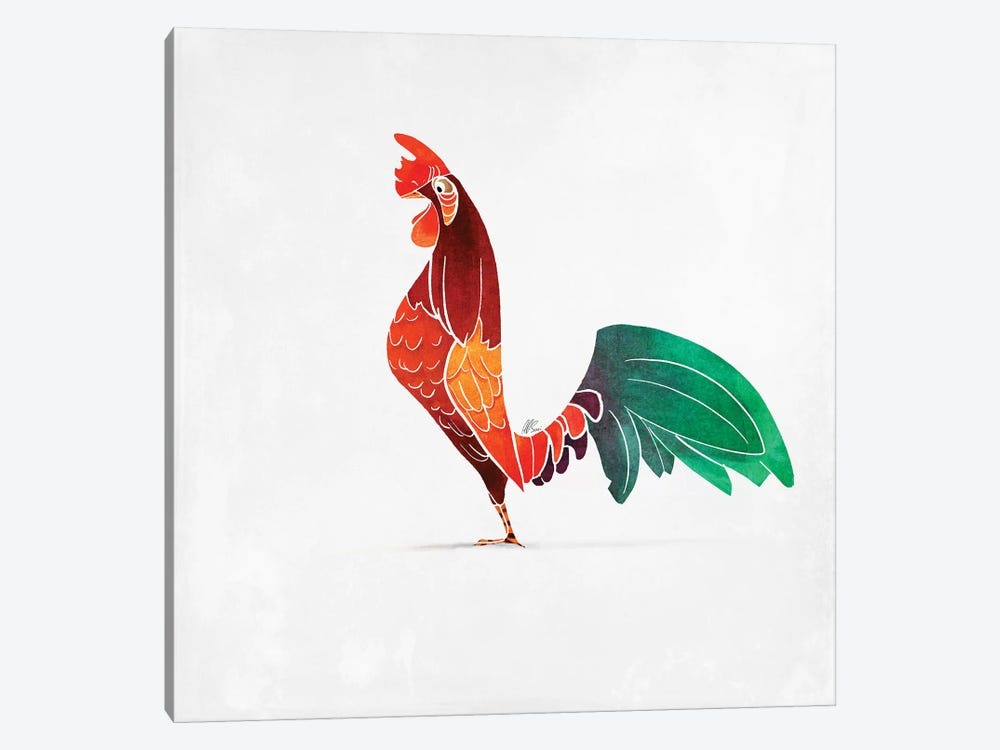 Rooster by SAEIART 1-piece Art Print