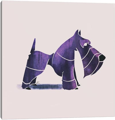 Scottish Terrier Canvas Art Print