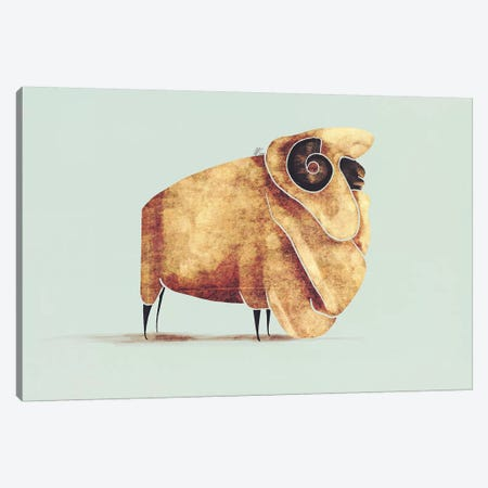 Sheep Canvas Print #SAI50} by SAEIART Canvas Artwork