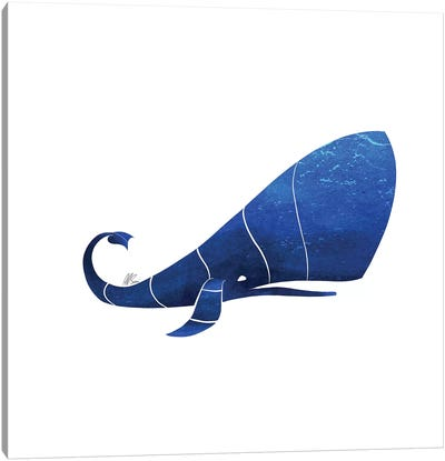 Sperm Whale Canvas Art Print