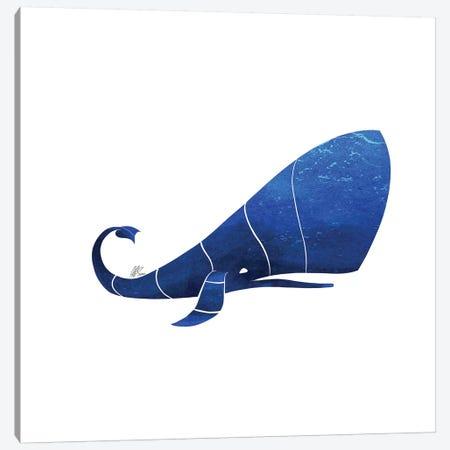 Sperm Whale Canvas Print #SAI51} by SAEIART Canvas Wall Art