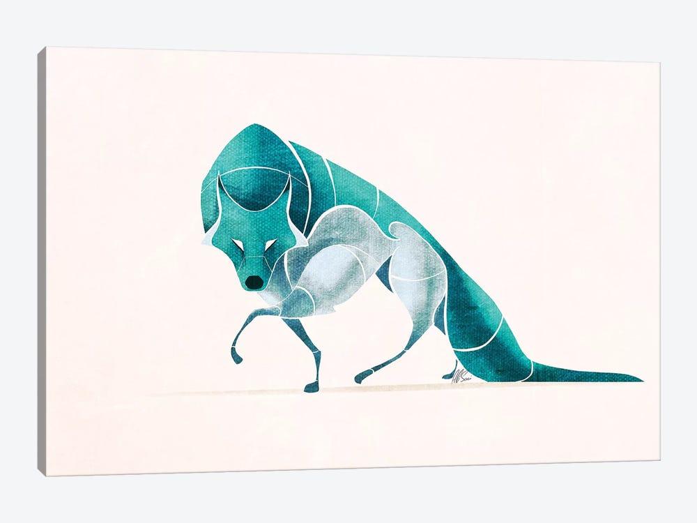 Wolf IV by SAEIART 1-piece Art Print