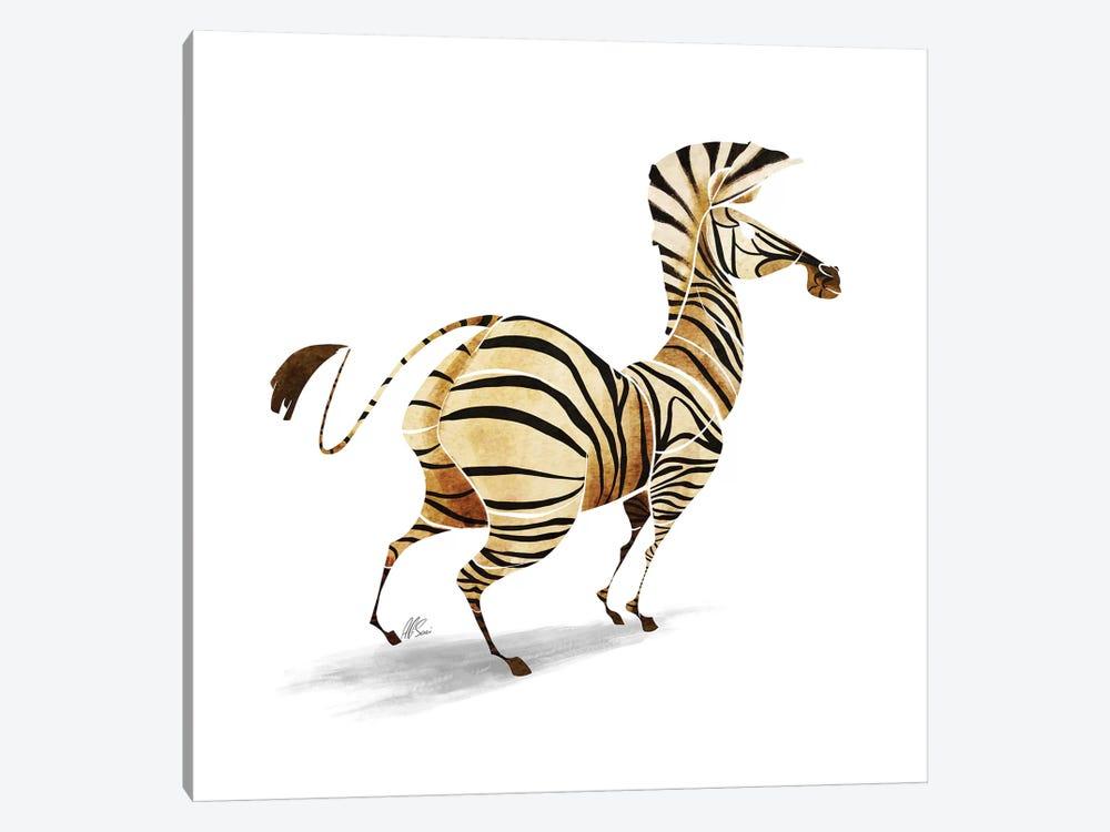 Zebra by SAEIART 1-piece Art Print