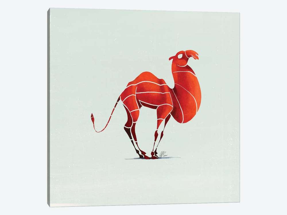 Camel by SAEIART 1-piece Art Print