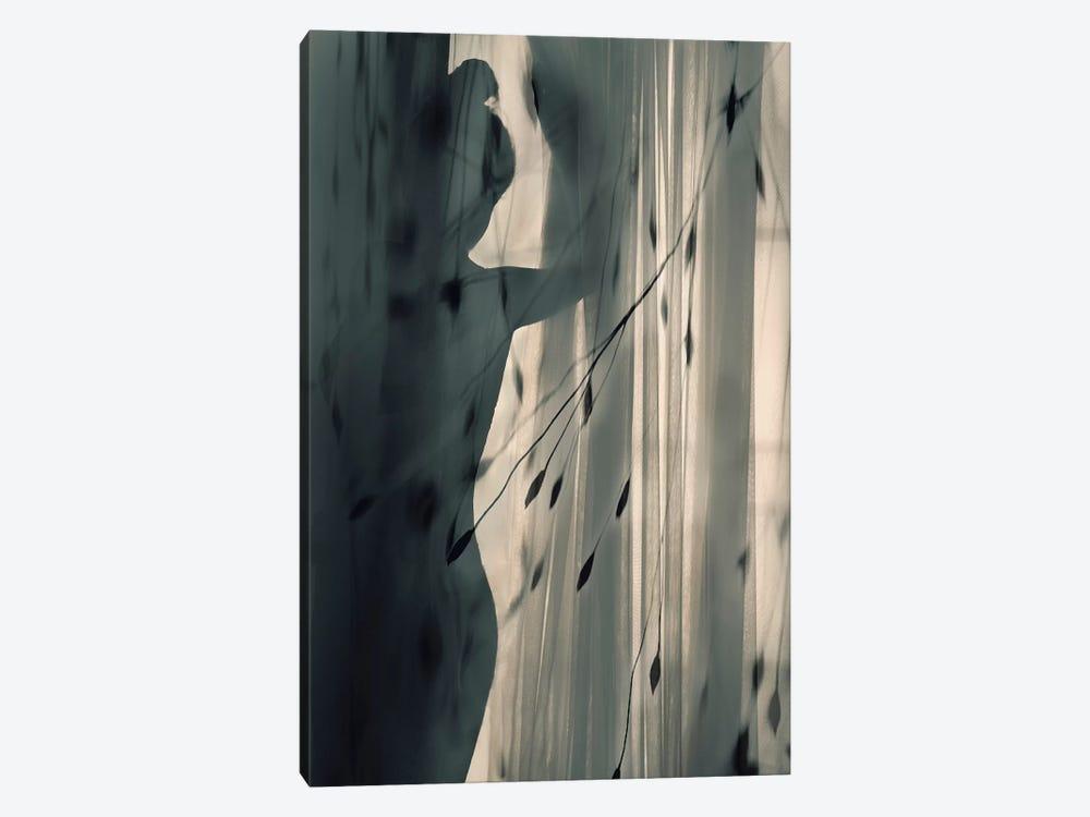 Uncertain by sahar karami 1-piece Canvas Art Print