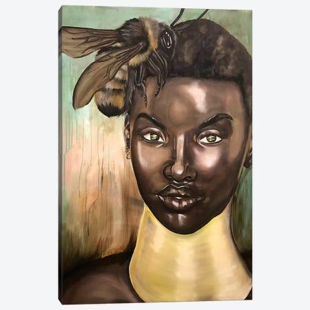 Honey, I Love Canvas Print #SAL10} by Stina Aleah Canvas Print