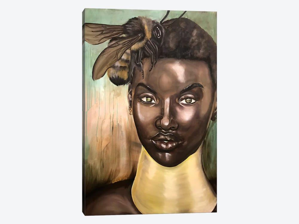 Honey, I Love by Stina Aleah 1-piece Canvas Print
