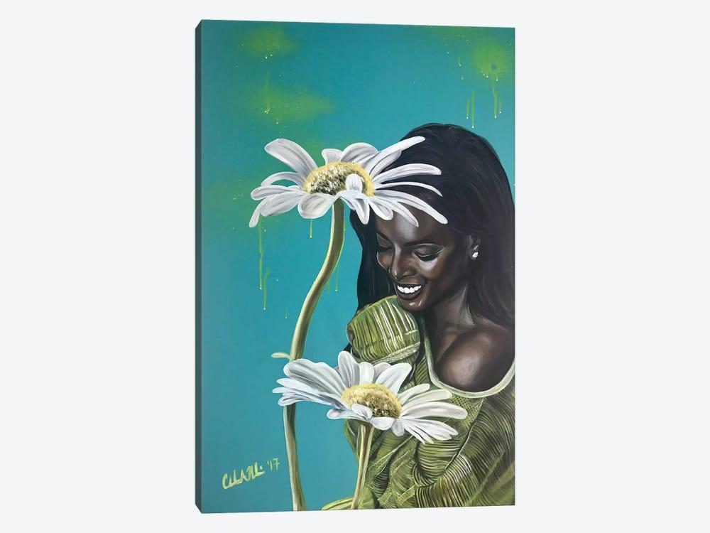 I'm so Happy by Stina Aleah 1-piece Canvas Print