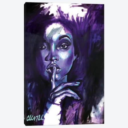 Say Less Canvas Print #SAL22} by Stina Aleah Canvas Art