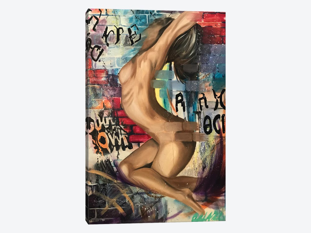 Vindication by Stina Aleah 1-piece Canvas Art Print