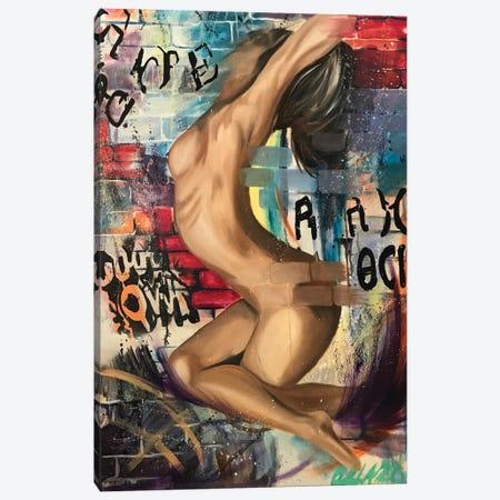 Vindication Canvas Print #SAL36} by Stina Aleah Canvas Artwork