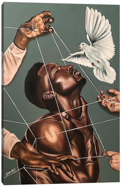 Spiritual Warfare Canvas Art Print