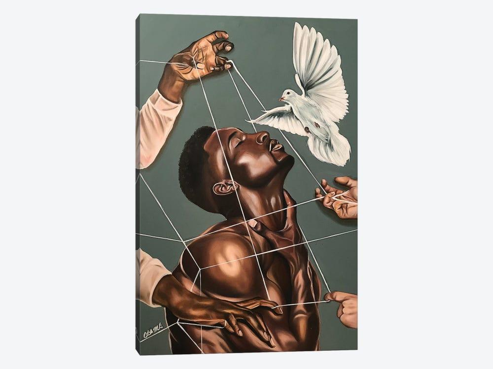 Spiritual Warfare by Stina Aleah 1-piece Canvas Art