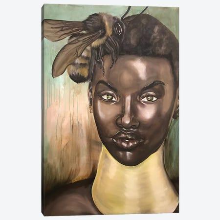 """Honey, I Love"" Canvas Print #SAL40} by Stina Aleah Canvas Art"