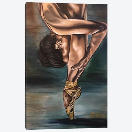 """It Takes Sacrifice"" Canvas Print #SAL41} by Stina Aleah Canvas Artwork"