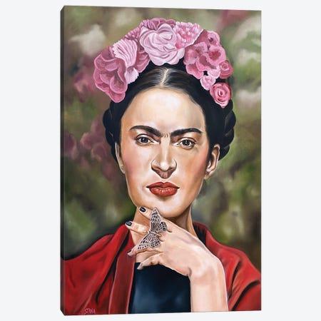 I Was Born A Painter Canvas Print #SAL53} by Stina Aleah Canvas Art Print