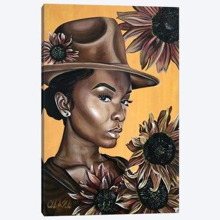 Her Canvas Print #SAL8} by Stina Aleah Art Print