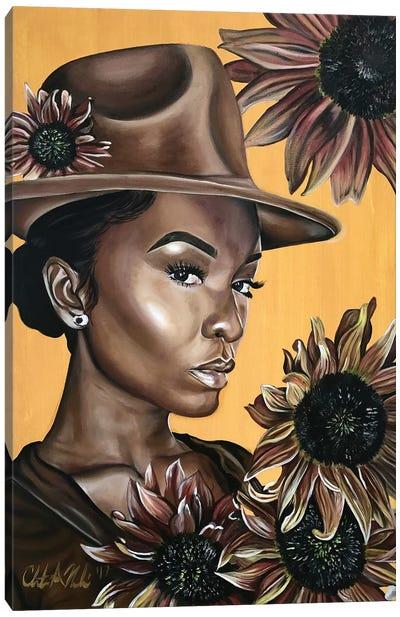Her Canvas Art Print