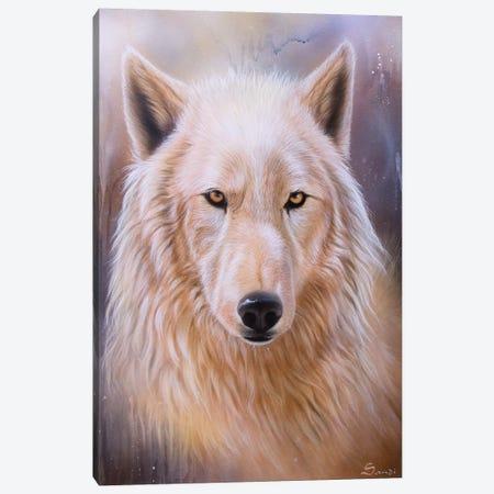 Dreamscape Wolf III Canvas Print #SAN39} by Sandi Baker Canvas Print