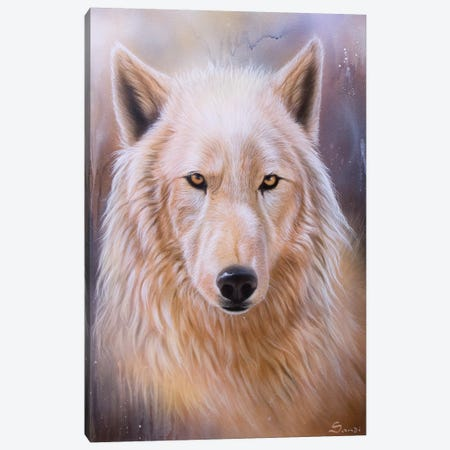 Dreamscape Wolf III Canvas Print #SAN39} by Sandi Baker Canvas Print