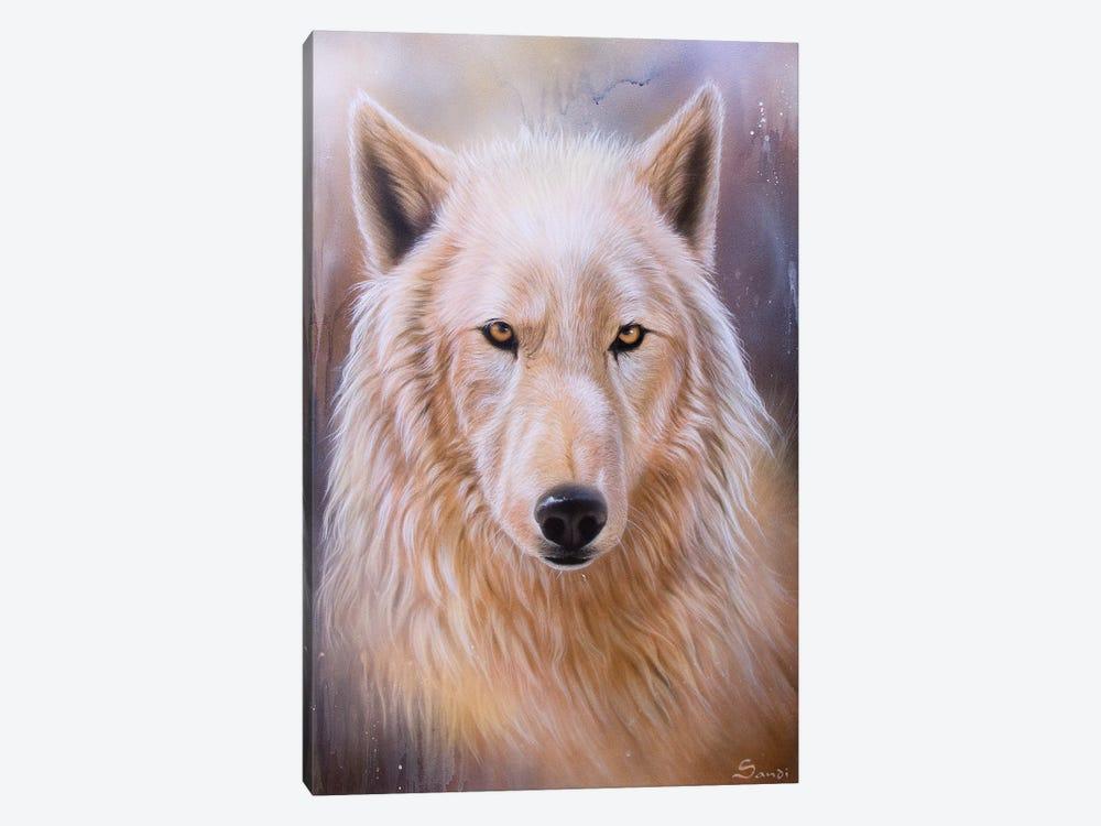 Dreamscape Wolf III by Sandi Baker 1-piece Art Print
