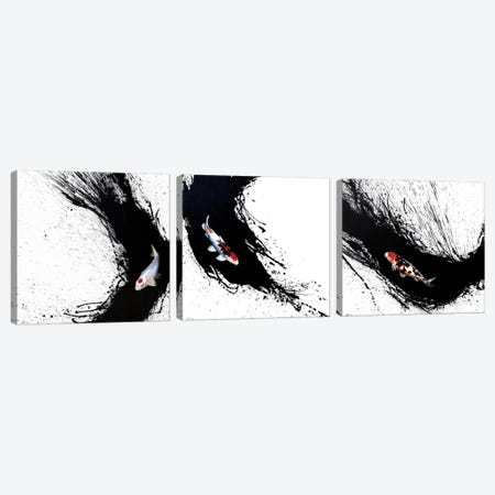 Carpe Diem Triptych Canvas Print Set #SAN3HSET001} by Sandi Baker Art Print