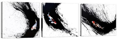 Carpe Diem Triptych Canvas Art Print