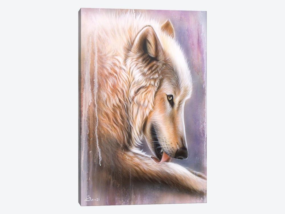Dreamscape Wolf IV by Sandi Baker 1-piece Canvas Print