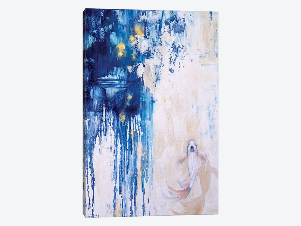 Into The Blue II by Sandi Baker 1-piece Canvas Wall Art