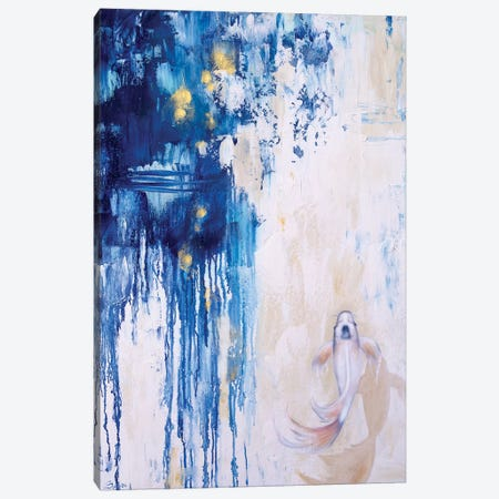 Into The Blue II Canvas Print #SAN47} by Sandi Baker Canvas Art Print