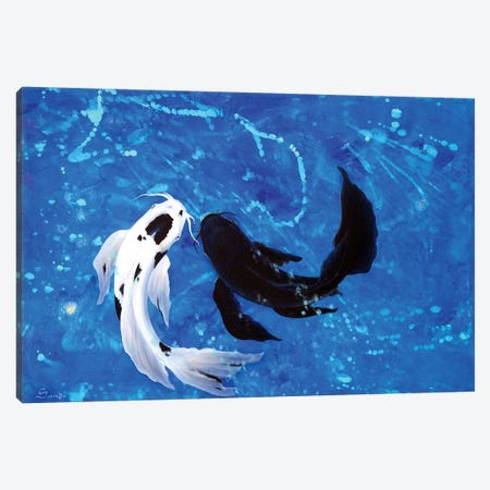 Koi No Yokan Canvas Print #SAN50} by Sandi Baker Art Print