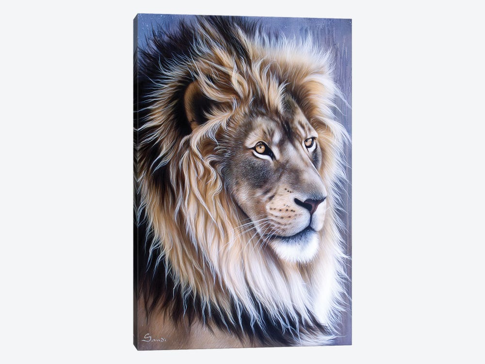 Leo by Sandi Baker 1-piece Canvas Print
