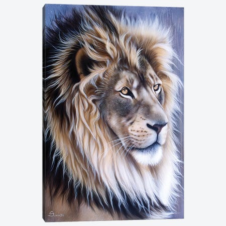 Leo 3-Piece Canvas #SAN51} by Sandi Baker Canvas Art Print